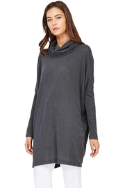 Audrey 3+1 Edie Turtleneck Sweater Dress - Side cropped