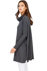 Audrey 3+1 Edie Turtleneck Sweater Dress - Back cropped