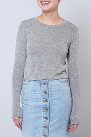 Audrey 3+1 Fine Knit Pullover - Product Mini Image