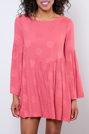 Audrey 3+1 Flare Sleeved Dress - Front full body