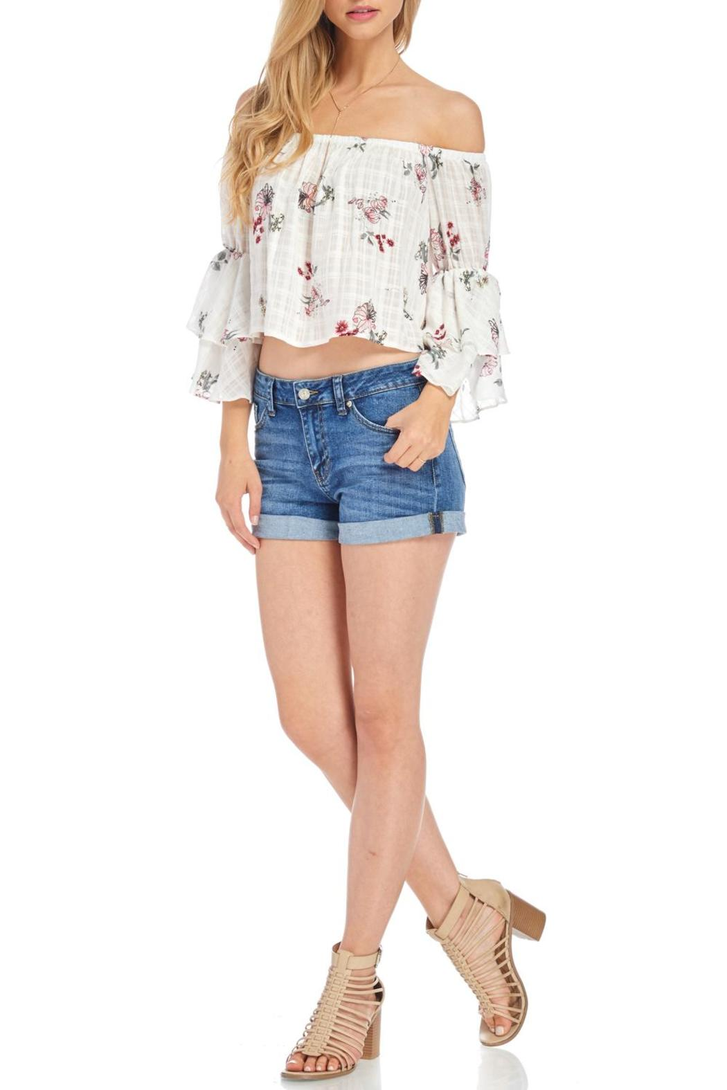 Audrey 31 Floral Crop Top From Florida By Apricot Lane St Armands