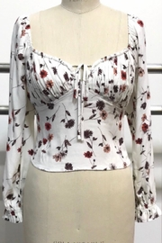 Audrey 3+1 Garden Dream Floral-Top - Front cropped