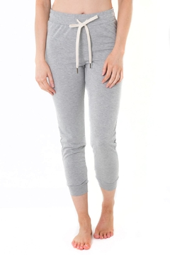 Shoptiques Product: Grey Jogger Pants
