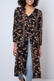 Audrey 3+1 Long Floral Shirt - Front cropped