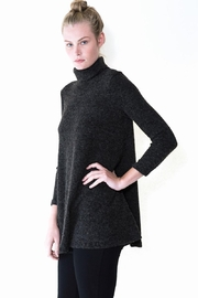 Audrey 3+1 Luna Turtleneck Knit Sweater - Product Mini Image