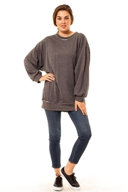 Audrey 3+1 Oversized Crew Neck Sweatshirt - Product Mini Image