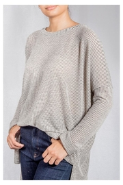 Audrey 3+1 Oversized Knit Sweater - Product Mini Image