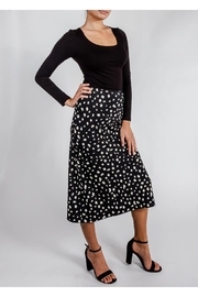 Audrey 3+1 Spots Slip Skirt - Side cropped