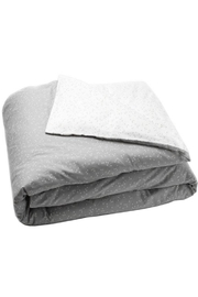 AUGGIE Duvet Grey-White Queen - Product Mini Image