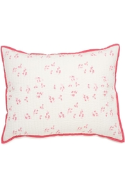 AUGGIE Quilted Pretty-Pink Sham - Front cropped