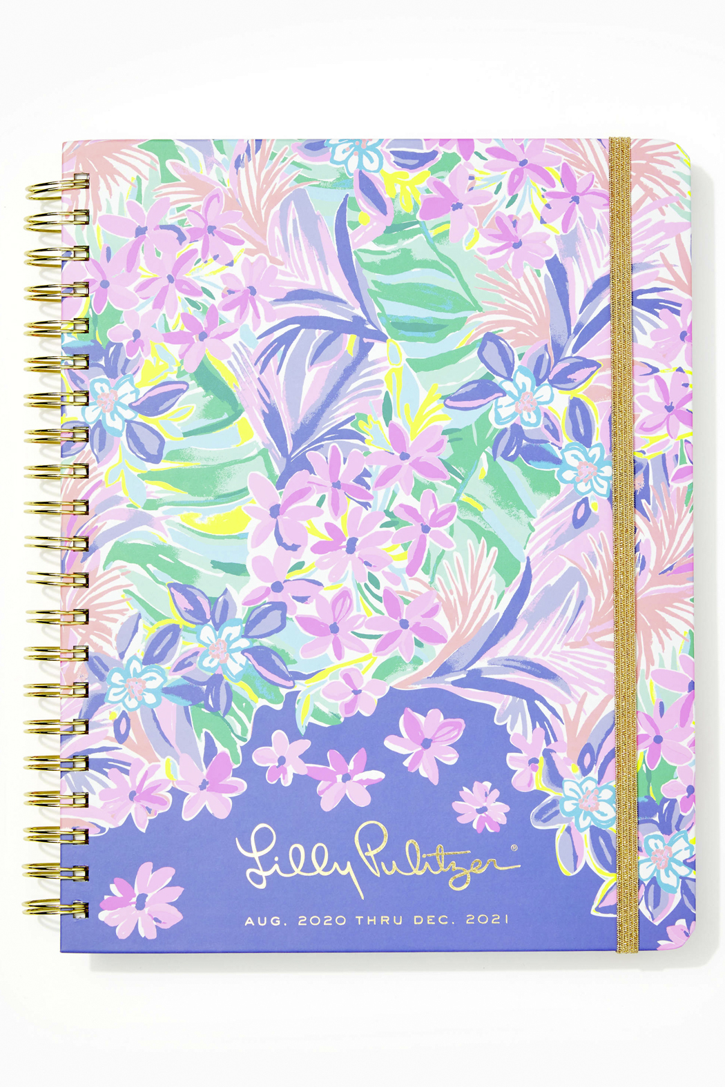 Lilly Pulitzer August 2020-December 2021 Jumbo Agenda - 17 month - Front Cropped Image