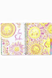 Lilly Pulitzer August 2020-December 2021 Jumbo Agenda - 17 month - Back cropped