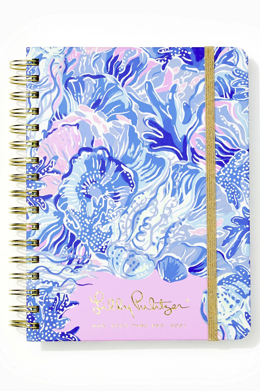 Lilly Pulitzer August 2020-December 2021 Large Agenda - 17 Month - Front Cropped Image