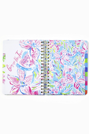 Lilly Pulitzer August 2020-December 2021 Large Agenda - 17 Month - Back cropped