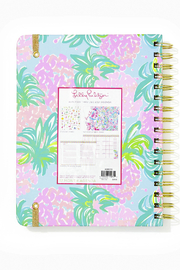 Lilly Pulitzer August 2020-December 2021 Large Agenda - 17 Month - Front full body