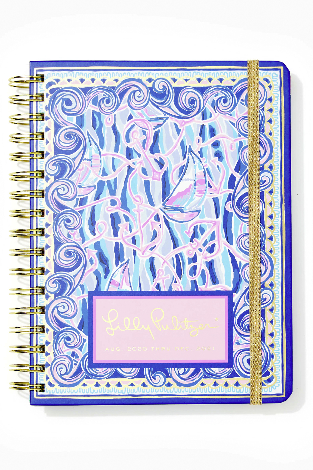 Lilly Pulitzer August 2020-December 2021 Large Agenda - 17 Month - Main Image