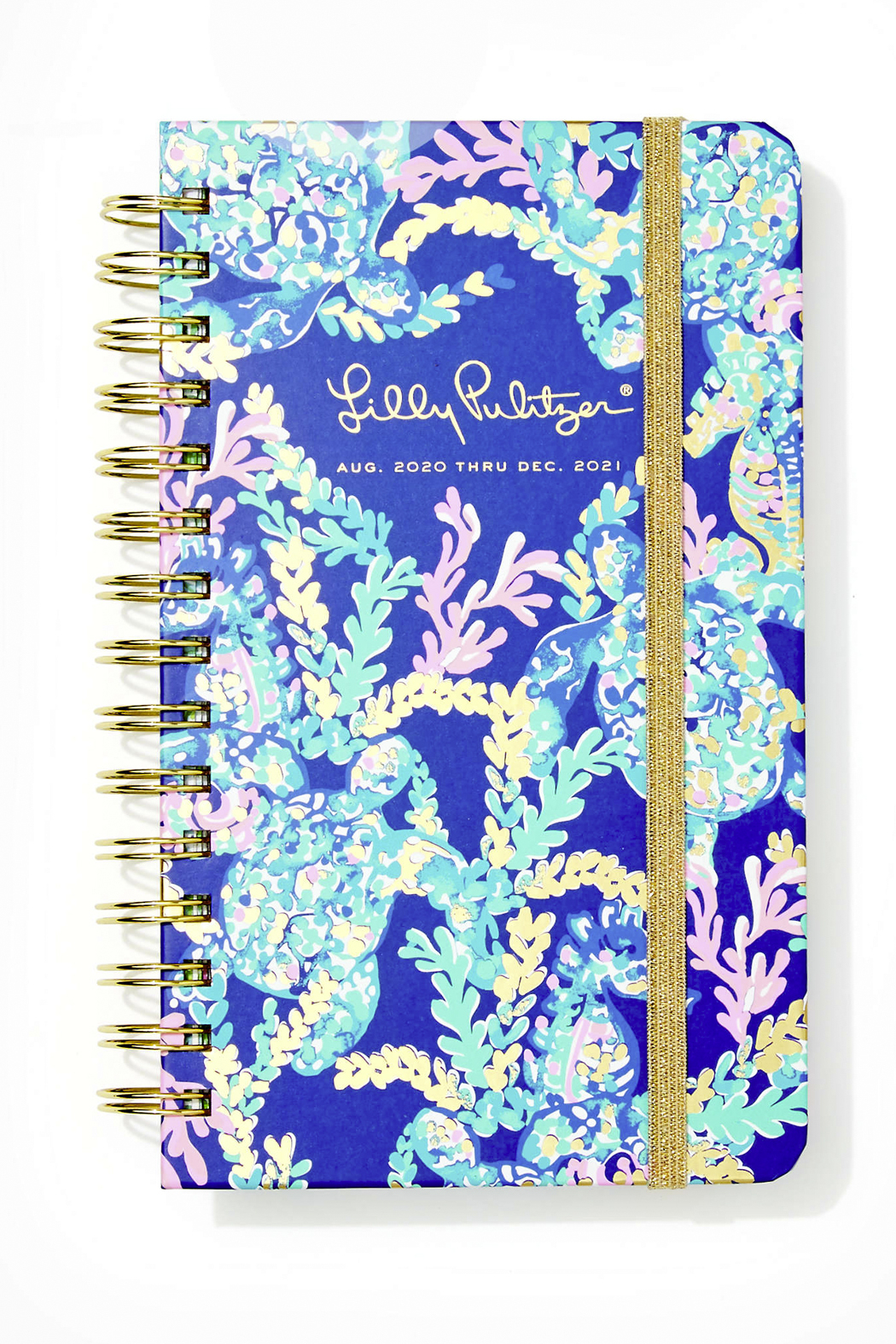 Lilly Pulitzer August 2020-December 2021 Medium Agenda - 17 Month - Front Cropped Image
