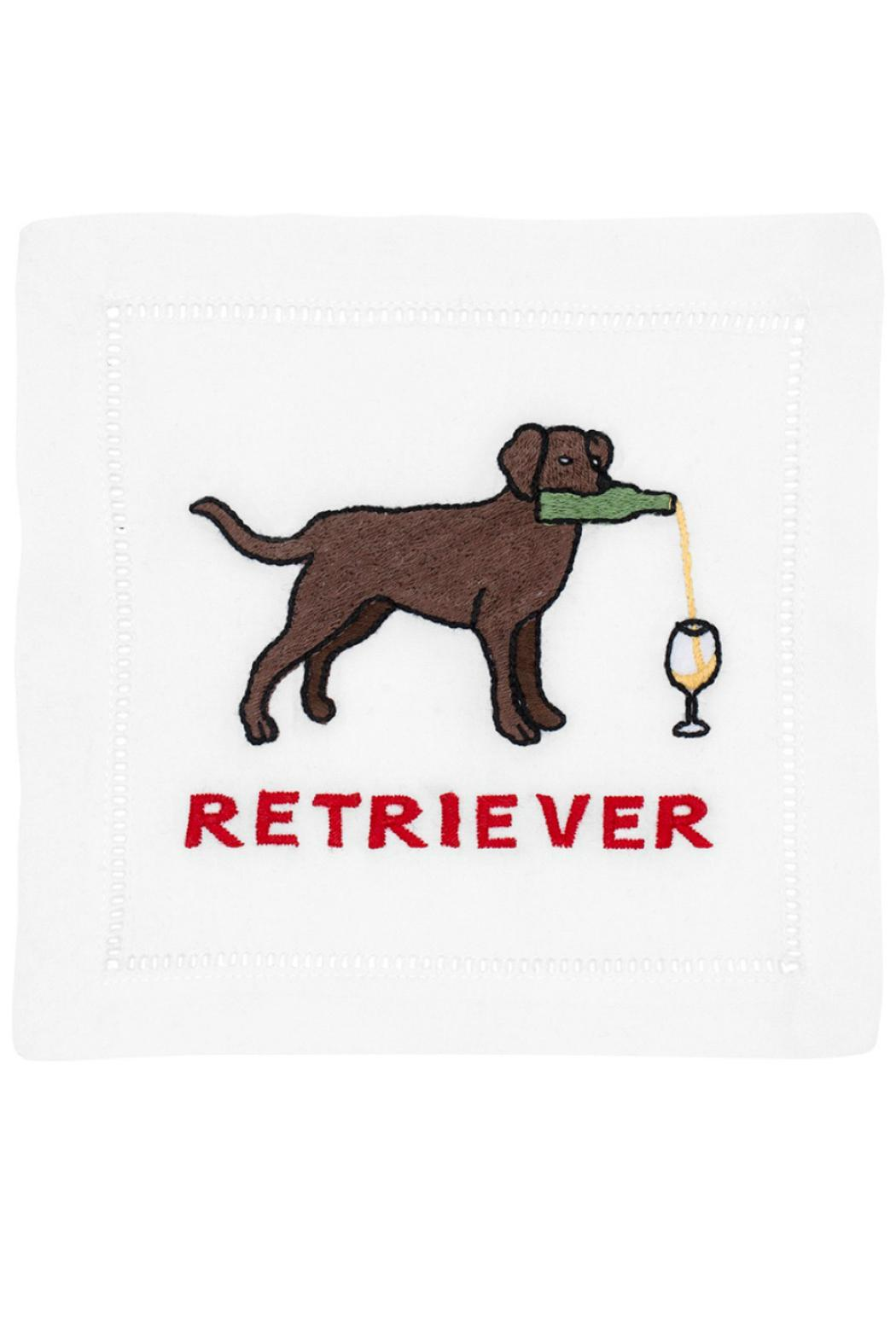 august morgan Retriever Cocktail Napkins - Front Cropped Image