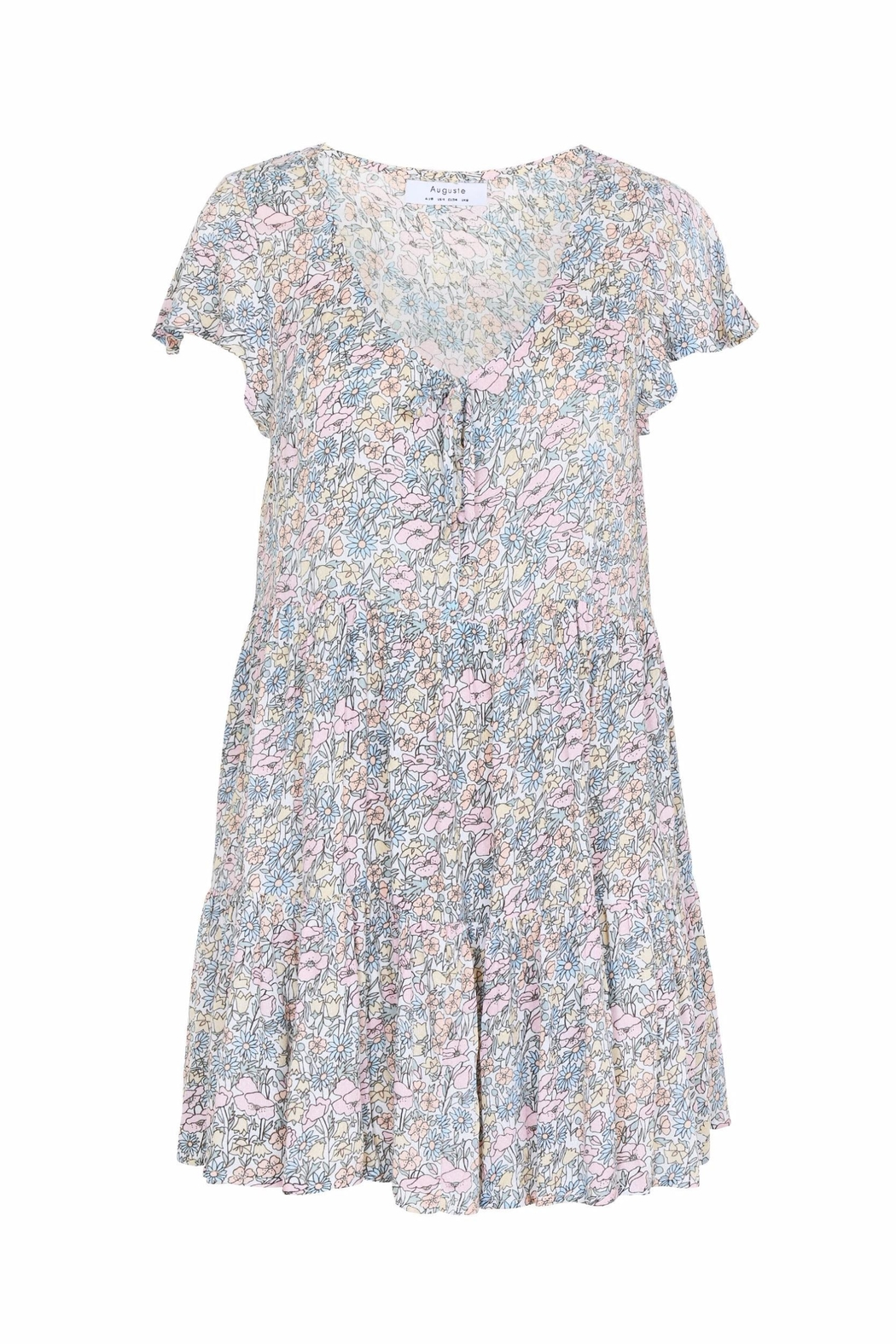 Auguste The Label  Babydoll Floral Mini - Main Image