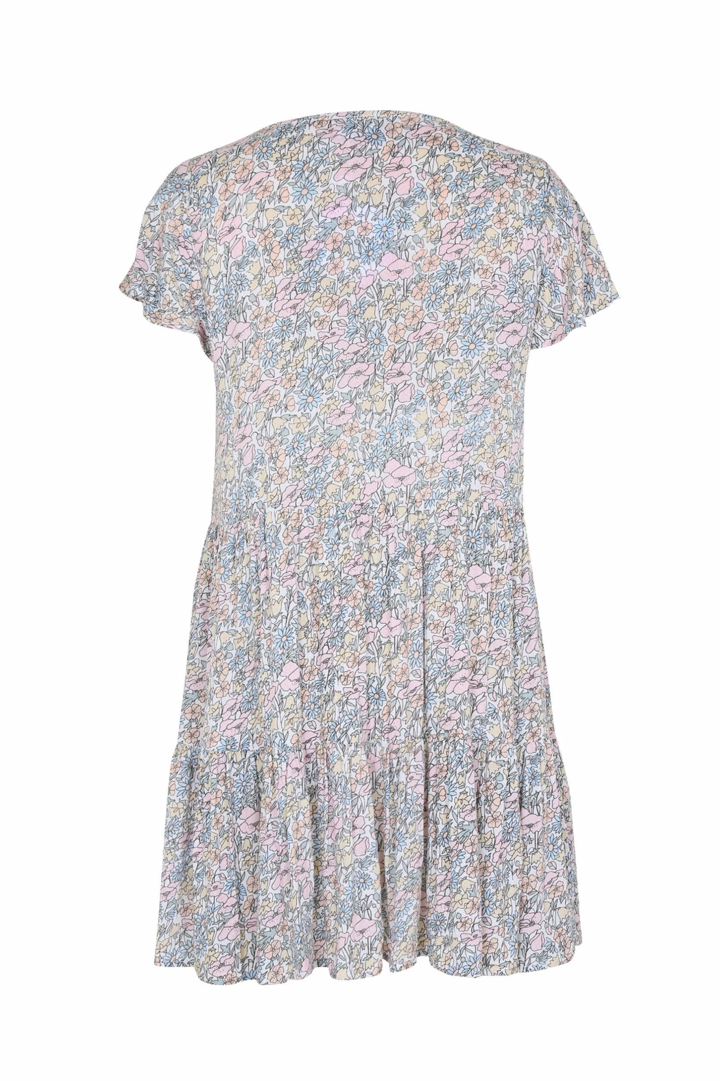 Auguste The Label  Babydoll Floral Mini - Front Full Image