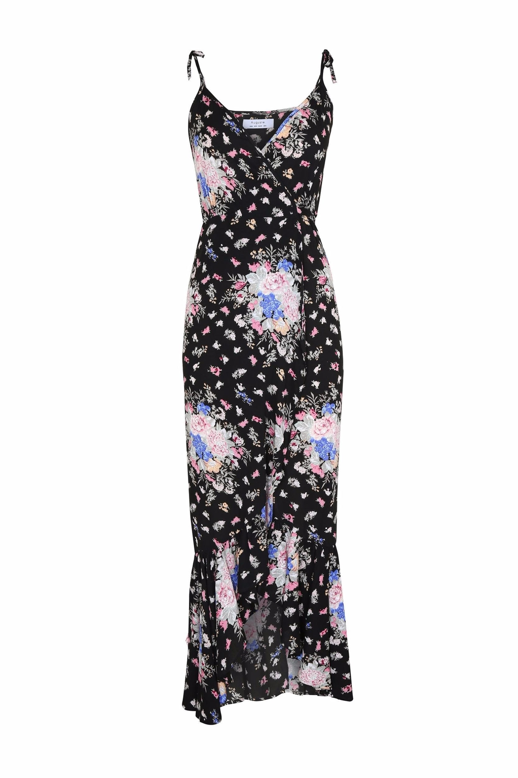 Auguste The Label  Dark Floral Dress - Main Image