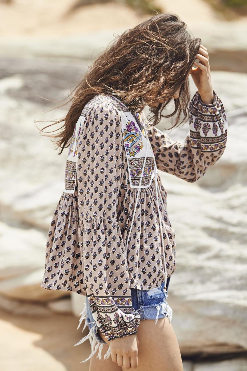 Auguste The Label  Open-Road Boho Blouse - Side Cropped Image