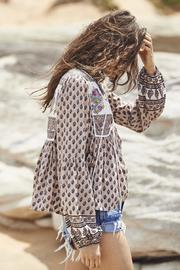 Auguste The Label  Open-Road Boho Blouse - Side cropped