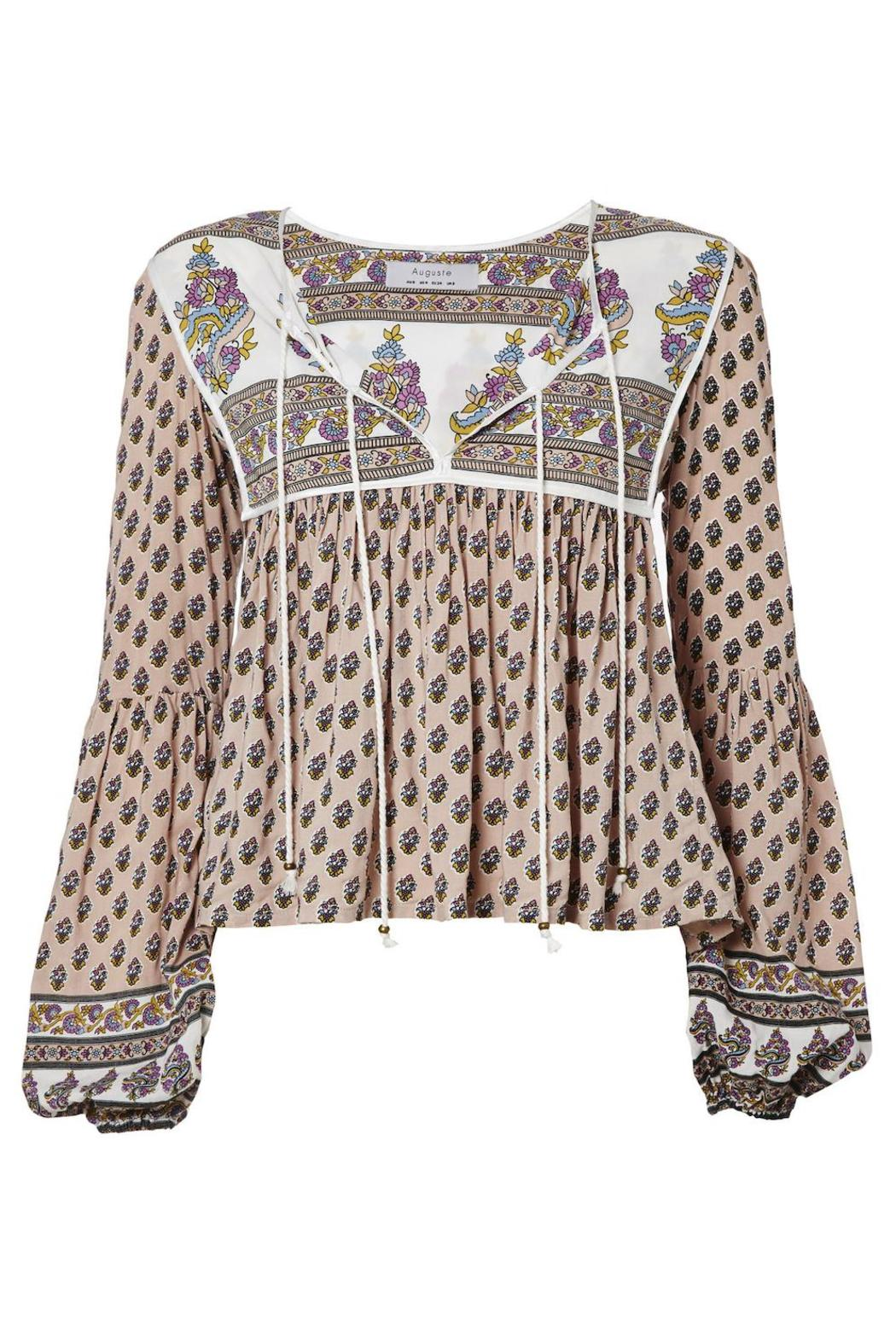 Auguste The Label  Open-Road Boho Blouse - Main Image