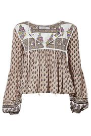 Auguste The Label  Open-Road Boho Blouse - Back cropped