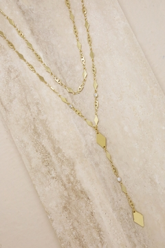 Shoptiques Product: Augustine Layered Lariat Necklace