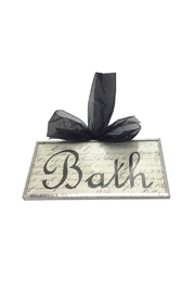 Aunt Liz's Attic Bath Door Sign - Product Mini Image