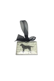 Aunt Liz's Attic Dog Glass Ornament - Product Mini Image