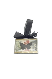 Aunt Liz's Attic Glass Butterfly Ornament - Product Mini Image
