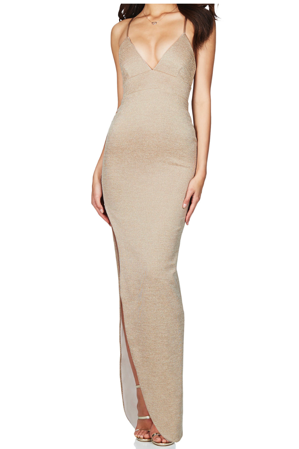 Nookie Aura Gown - Front Cropped Image