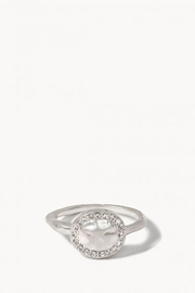 Spartina 449 Aura Ring Crystal SIL - Product Mini Image