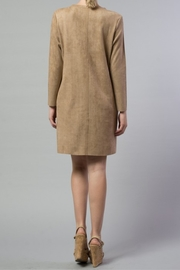 Joh Apparel Aurora Faux Suede Dress - Front full body
