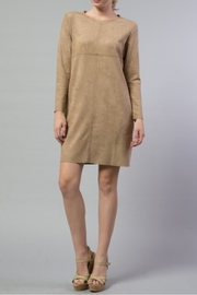 Joh Apparel Aurora Faux Suede Dress - Product Mini Image