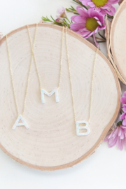 Lotus Jewelry Aurora Letter Necklaces - Product Mini Image