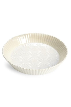 Anthropologie Aurora Stoneware Pie Dish - Alternate List Image