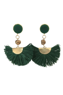 Shoptiques Product: Fan Dangle Earrings