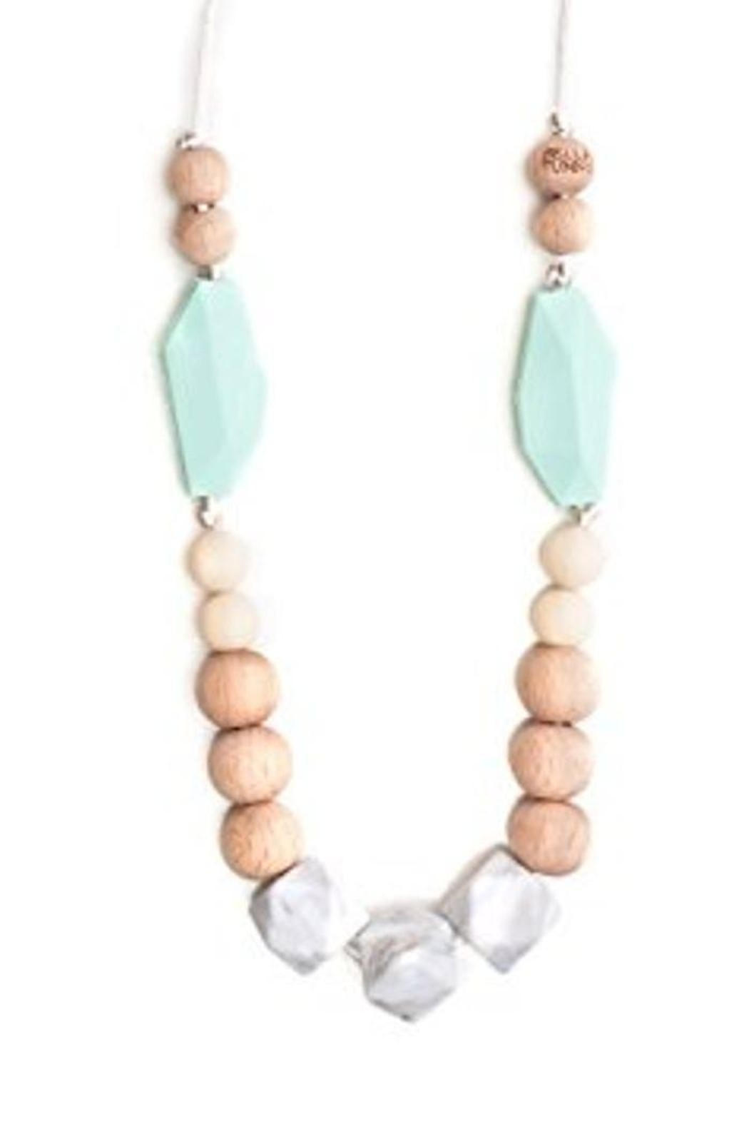 Bella Tunno Austin Teething Necklace - Front Cropped Image