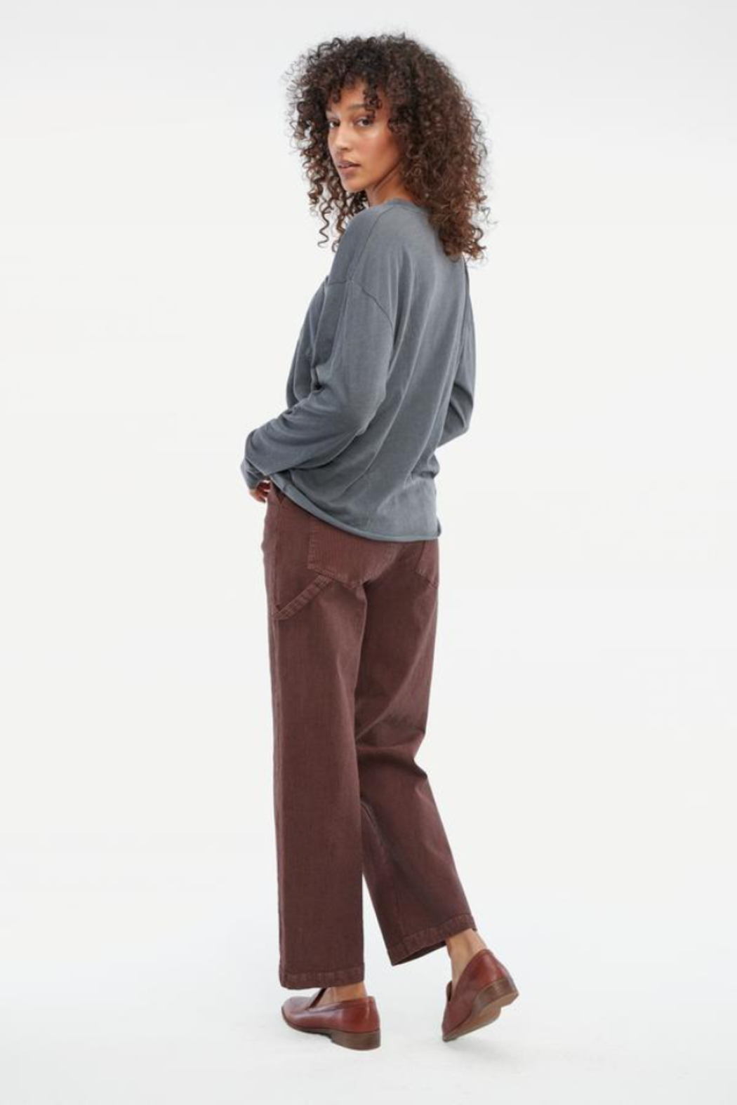 LACAUSA Austin Trousers - Side Cropped Image