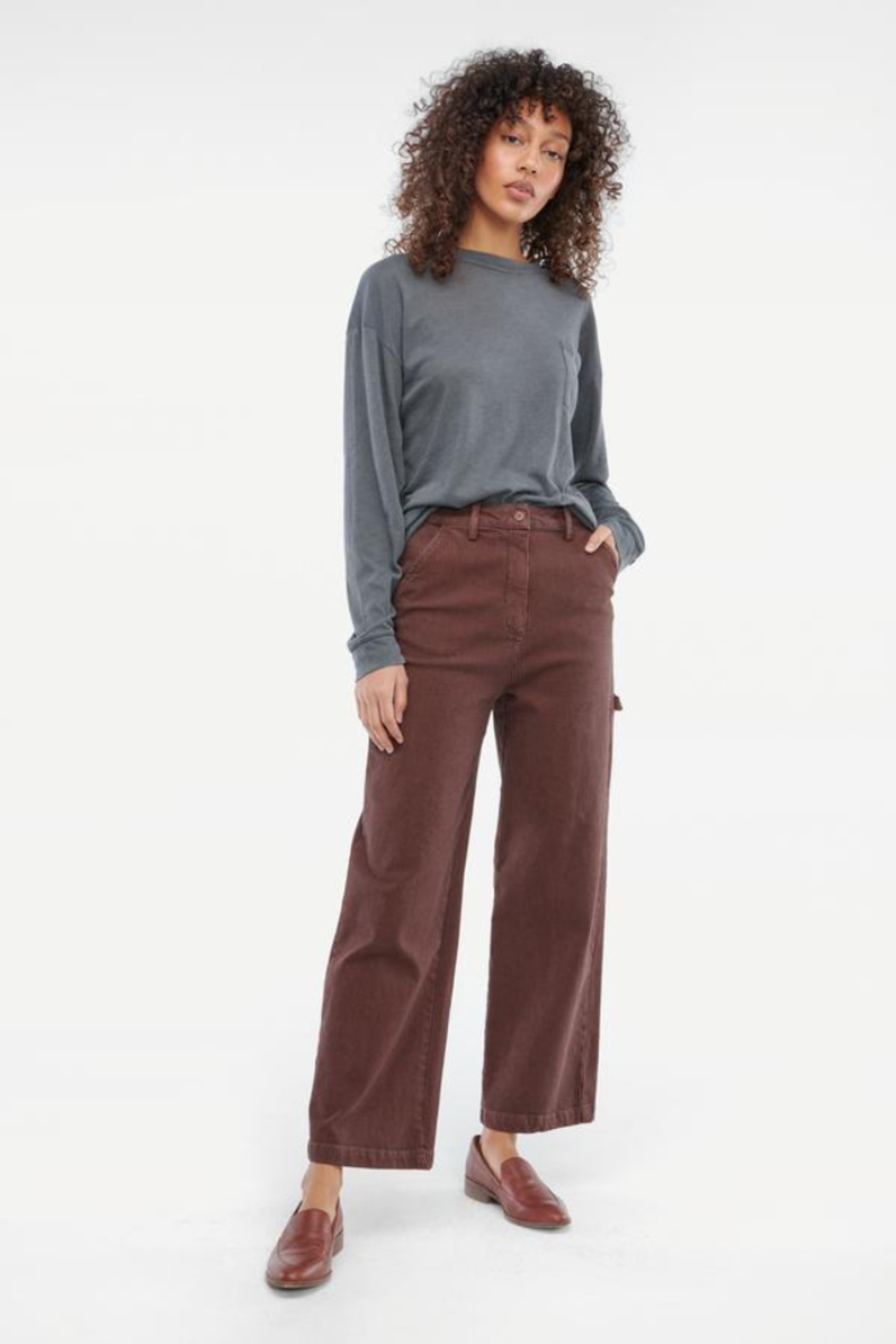 LACAUSA Austin Trousers - Front Full Image