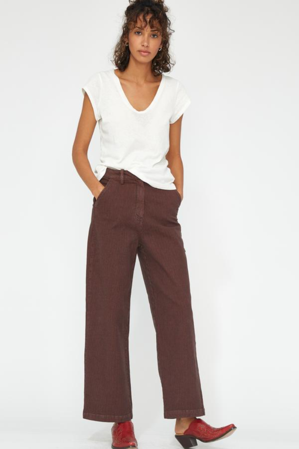 LACAUSA Austin Trousers - Front Cropped Image