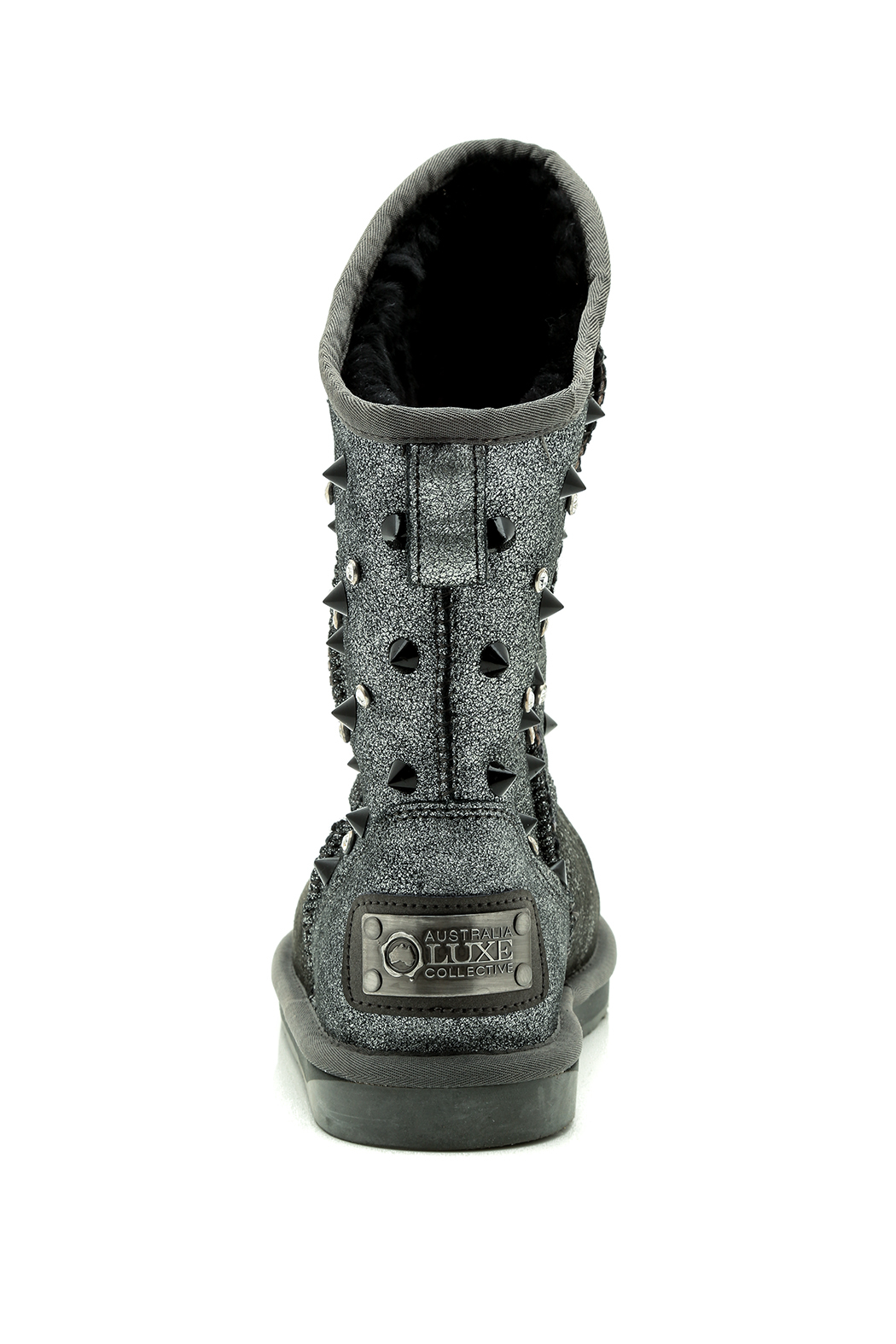 Australia Luxe Collective Swarovski Pistol Boot - Front Full Image