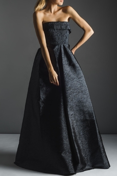 Alex Perry Australian Metallic Gown - Product List Image