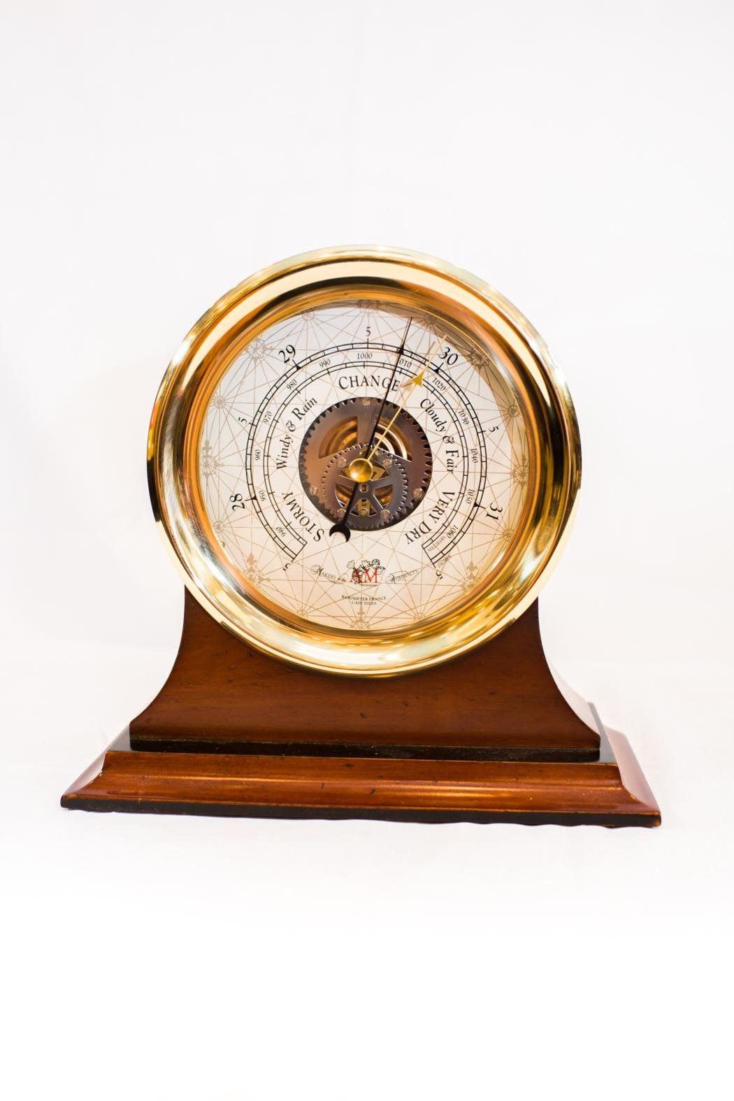 Authentic Models Captain's Barometer - Main Image