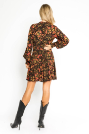 Olivaceous  Autumn ButtonUp Dress - Front full body