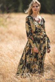 Jodifl Autumn Floral Maxi - Front cropped
