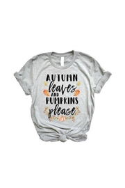 Local Artist  Autumn Leaves Tee - Product Mini Image